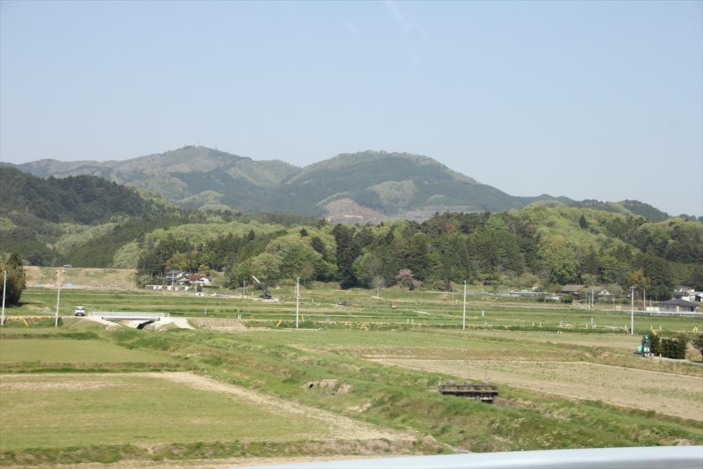 漸く普通の農村風景が見えてきた