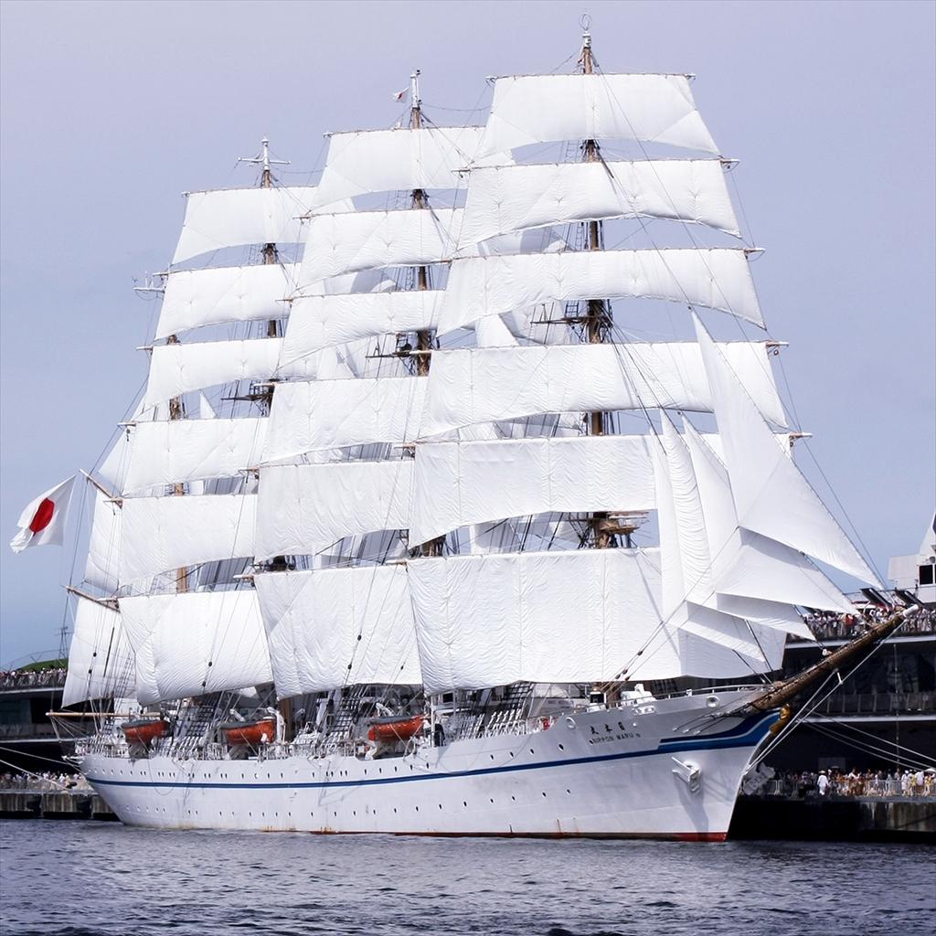 日本丸の展帆_1