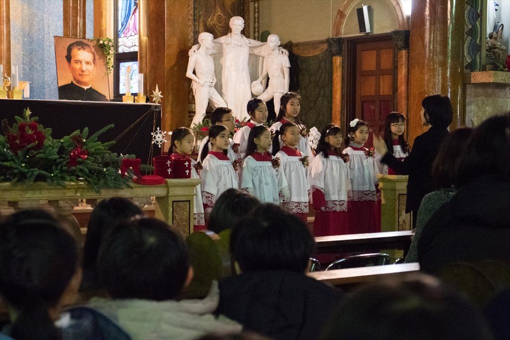 カトリック碑文谷教会(サレジオ教会)にて_12