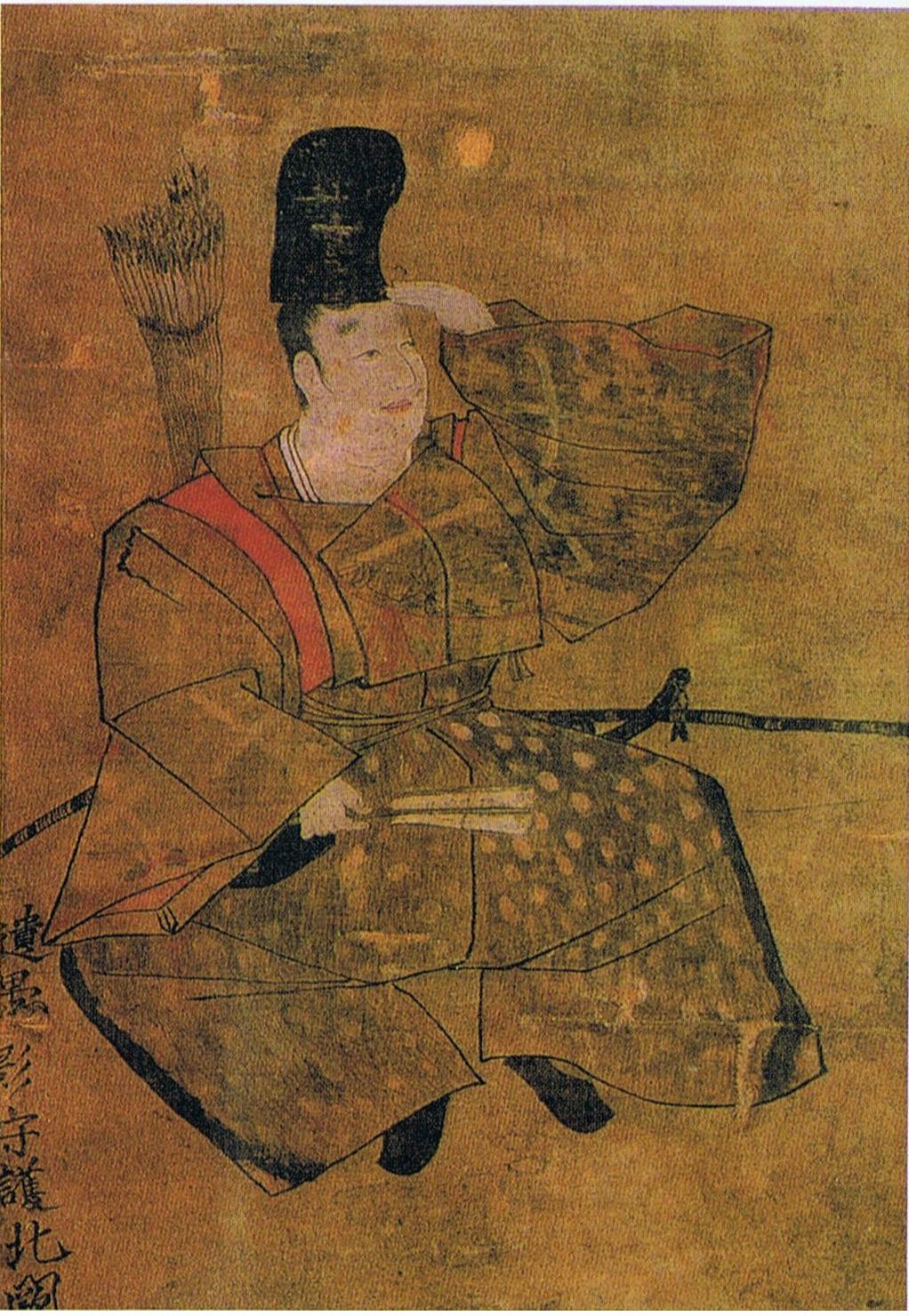 島津忠久の肖像画