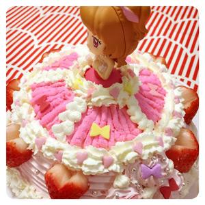 アイカツキラメキドレスケーキ1