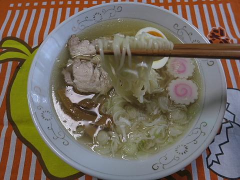 地鶏塩ラーメン10