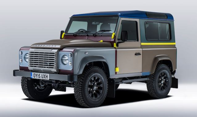 Land Rover Defender For Paul Smith