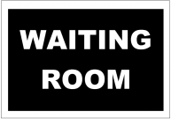 Waiting Room Poster Template