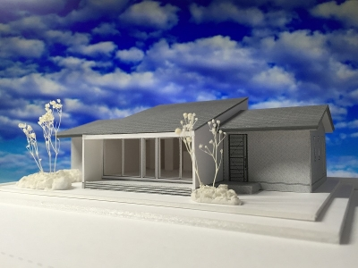 堀米の平屋 模型-1