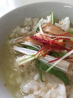 鯛ラーメン 大漁 鯛茶漬け