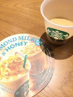 スターバックスコーヒージャパン アーモンドミルク&ハニー