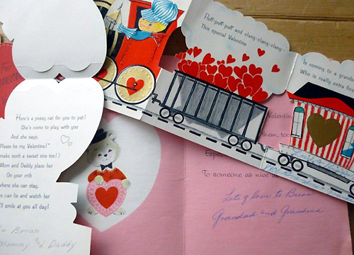 ヴィンテージ・バレンタインカード