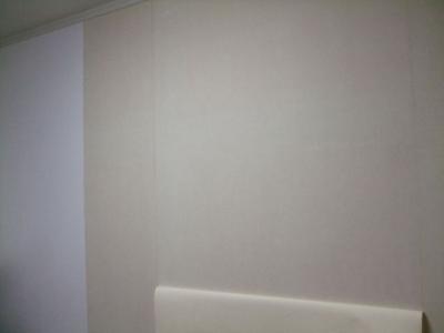 既存の壁紙(クロス)の剥がし