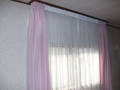 ダイニングキッチンのカーテン