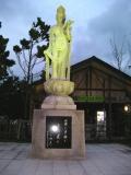 JR蟹田駅 観音像