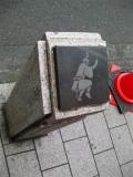JR高円寺駅 阿波踊りの石柱4
