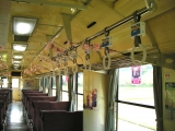 由利高原鉄道 YR-2001 車内
