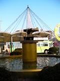 JR共和駅 名称不明噴水彫刻