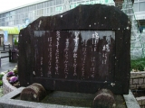 JR新宮駅 「鳩ぽっぽ」歌碑