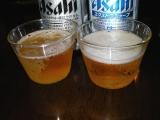アサヒビール スーパードライ エクストラシャープ 色比較