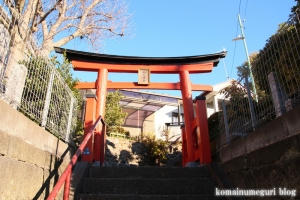 山王神社(藤沢市大鋸)1