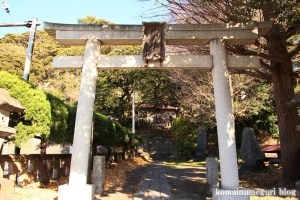 滝口明神社(藤沢市片瀬)1