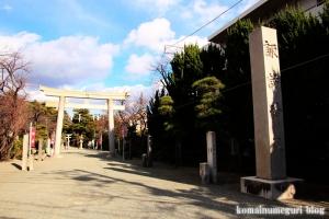 諏訪神社 下社(藤沢市片瀬)1