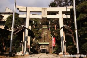 諏訪神社 上社(藤沢市片瀬)1