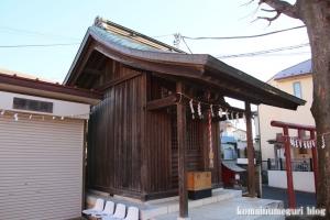 白山神社(府中市清水が丘)4
