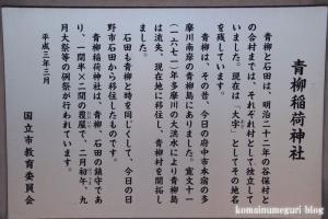 青柳稲荷(国立市青柳)16