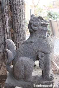 上目黒氷川神社(目黒区大橋)16