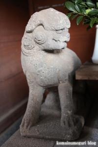 上目黒氷川神社(目黒区大橋)24