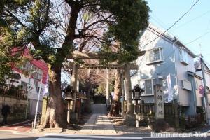 中目黒八幡神社(目黒区中目黒)1