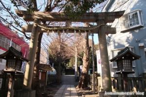 中目黒八幡神社(目黒区中目黒)3