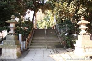 中目黒八幡神社(目黒区中目黒)4