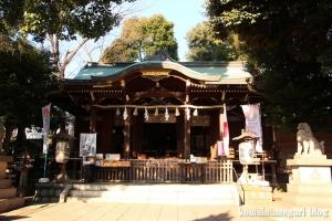中目黒八幡神社(目黒区中目黒)11