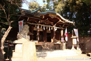 中目黒八幡神社(目黒区中目黒)12