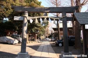 中目黒八幡神社(目黒区中目黒)23
