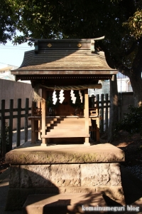 中目黒八幡神社(目黒区中目黒)19