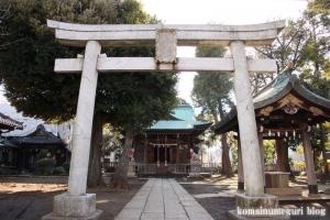 十日森稲荷神社(目黒区中央町)4