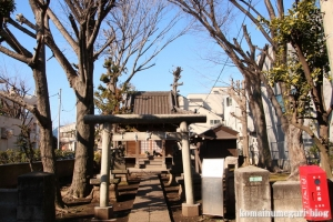 高木神社(目黒区南)1