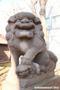 高木神社(目黒区南)11