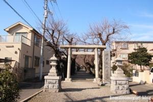 碑文谷八幡神社(目黒区碑文谷)1