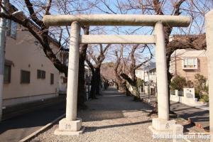 碑文谷八幡神社(目黒区碑文谷)3