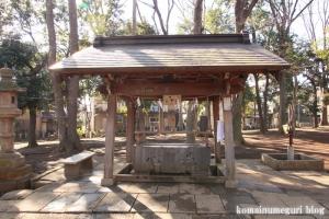 碑文谷八幡神社(目黒区碑文谷)8
