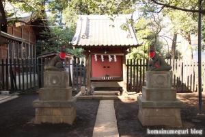 碑文谷八幡神社(目黒区碑文谷)18