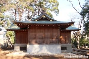 碑文谷八幡神社(目黒区碑文谷)24
