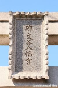 碑文谷八幡神社(目黒区碑文谷)5