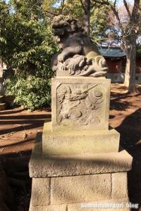 碑文谷八幡神社(目黒区碑文谷)26