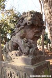 碑文谷八幡神社(目黒区碑文谷)31