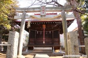 北野神社(目黒区柿の木坂)4