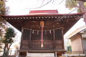 北野神社(目黒区柿の木坂)7