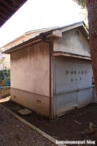 北野神社(目黒区柿の木坂)8