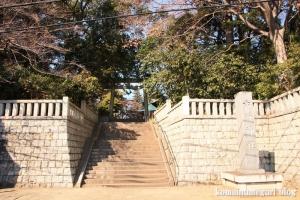 六所神社(世田谷区野毛)1